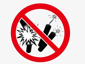 FIREWORKS ARE ILLEGAL  in the City of Shady Cove!