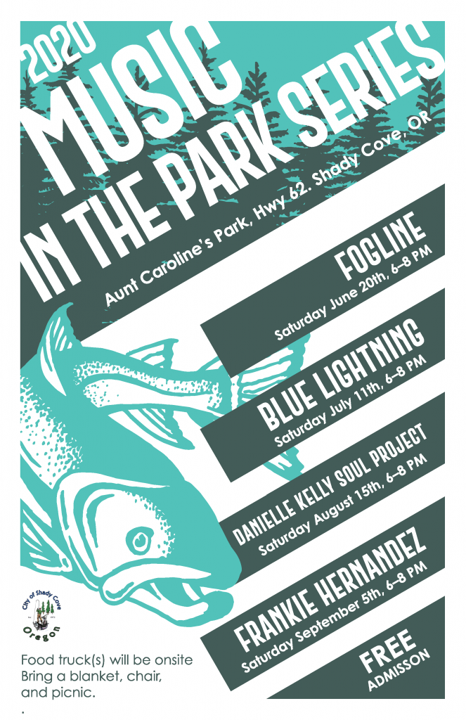 Music in the Park Concert Series 2020!