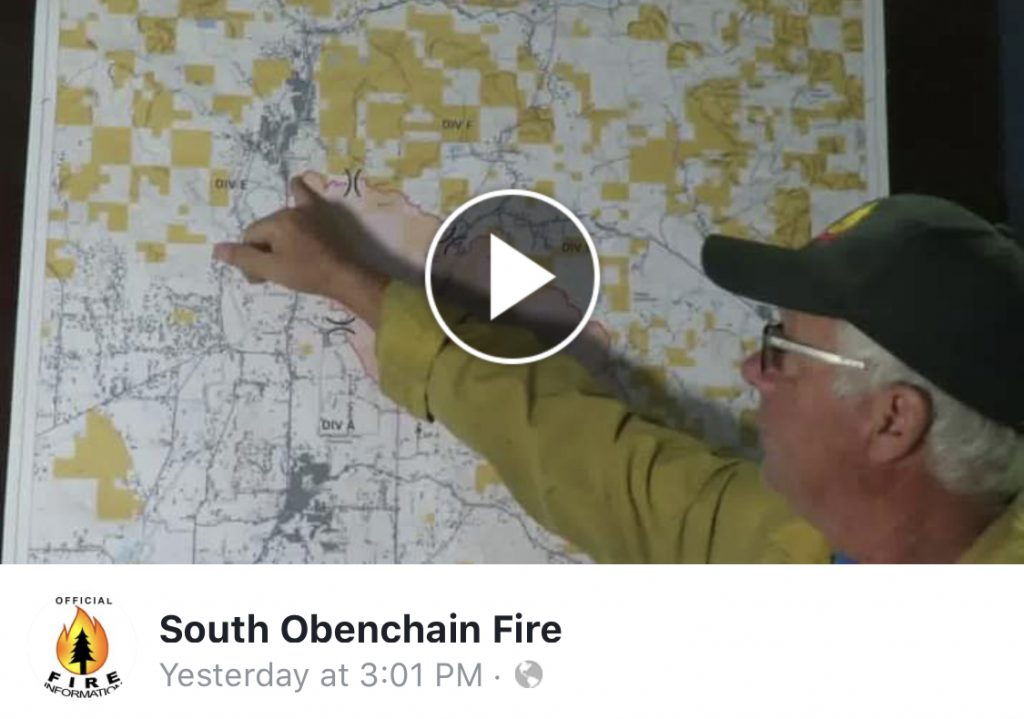 ODF explanation of map