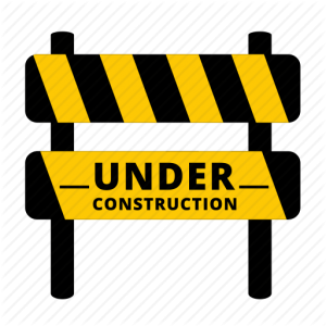 City Hall and Library Parking Lot closed for construction 9/19 and 9/20