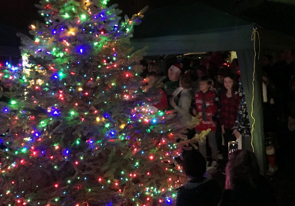 2019 Annual Tree Lighting!