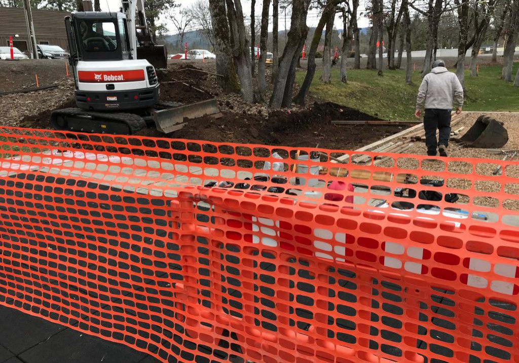 Aunt Caroline's Park to Get Face Lift!  Starting March 18!