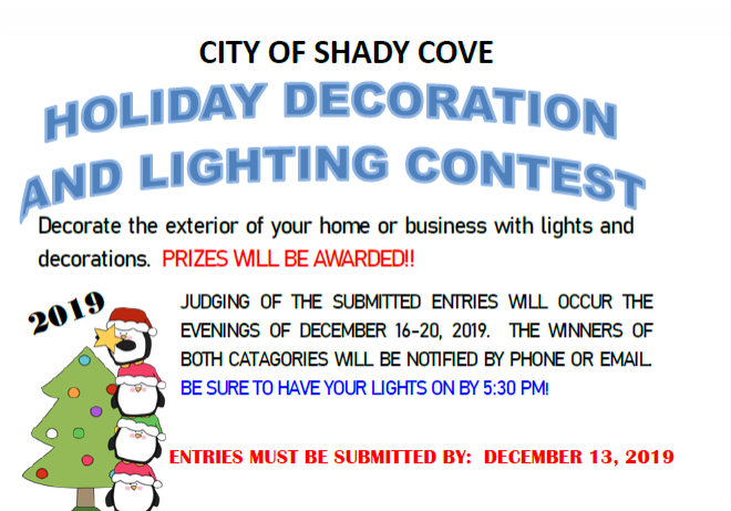 Holiday Decorating Contest!